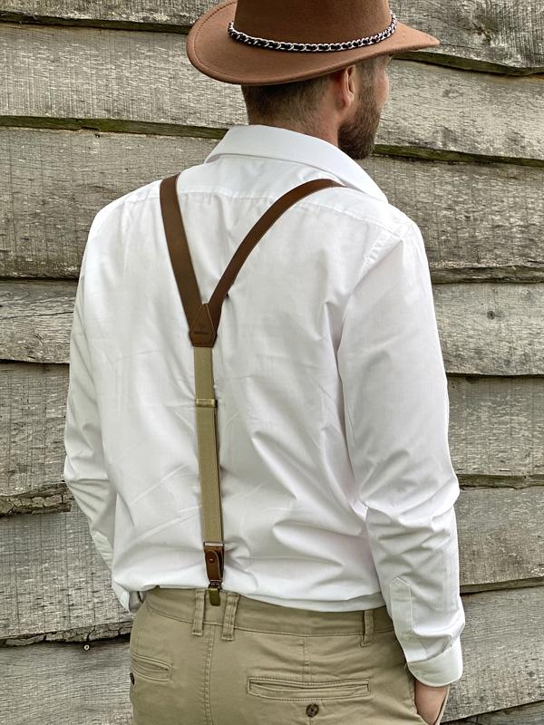 How to wear Sir Redman suspenders?